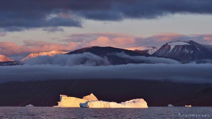 Sonnenuntergang Uummannaqfjord