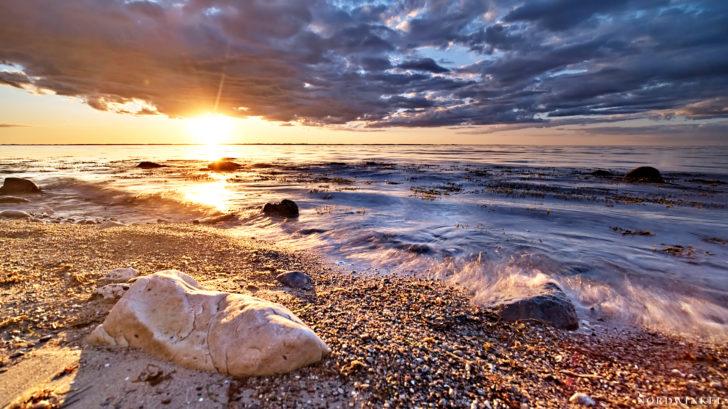 Evening Baltic Sea