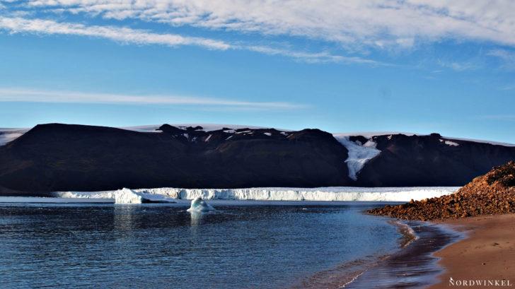 Glacierfront in Northgreenland