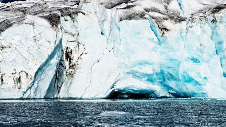 Icecave inside Fridtjof-Nansen-Fjord