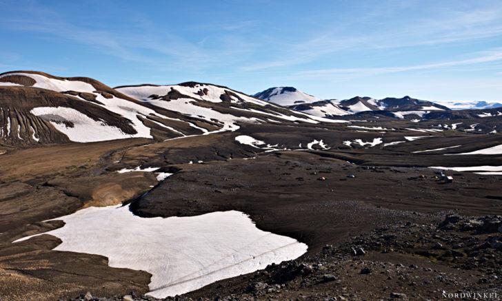 View over Icelandic Highland
