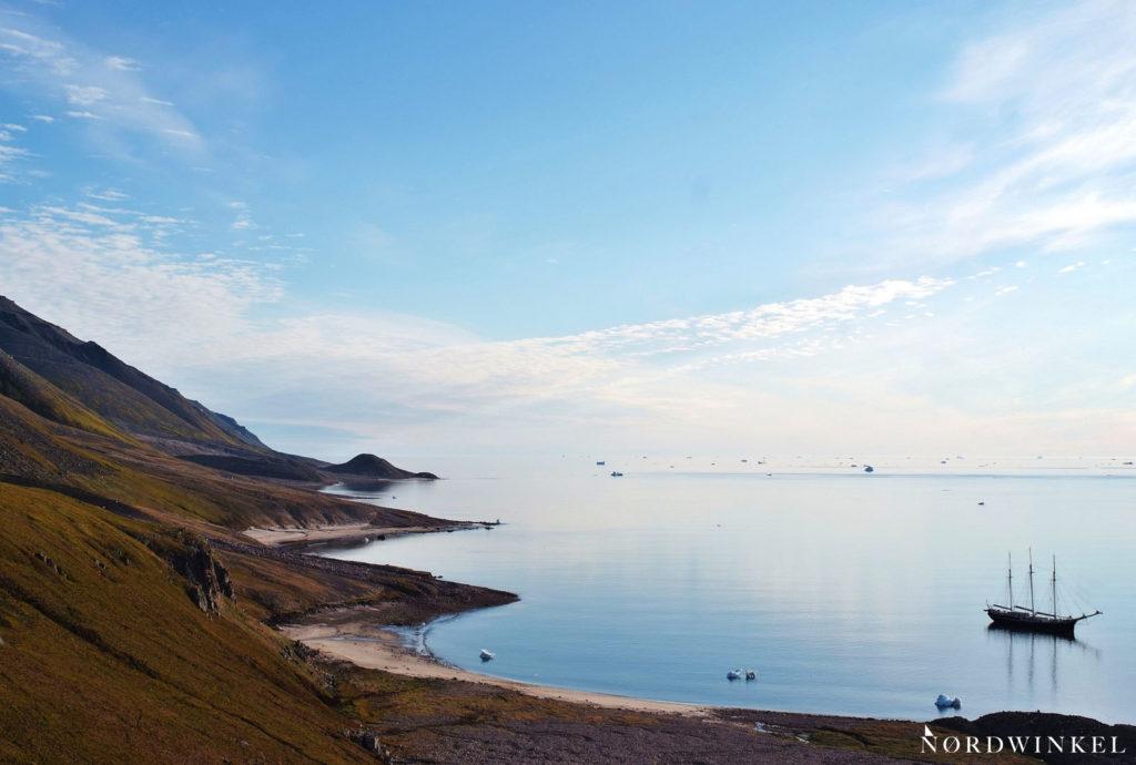Fjord des Morris-Jesup-Gletschers im Grönlandurlaub